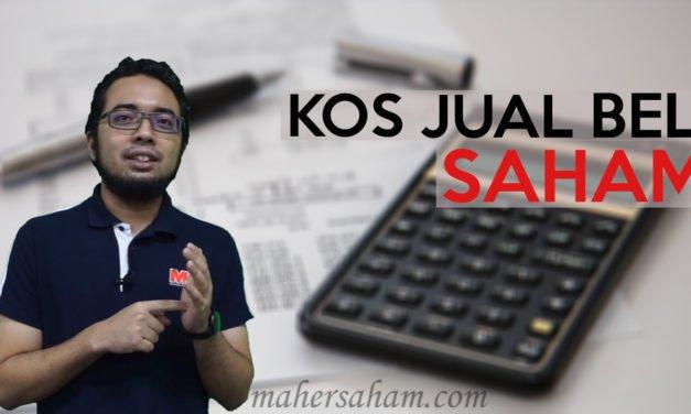 Kos-kos Jual Beli Saham di Bursa Malaysia