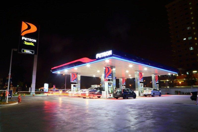 petronm petrol station