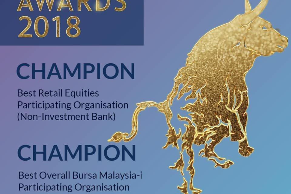 Mplus Online Dapat Award Untuk Bursa Excellence Awards 2018