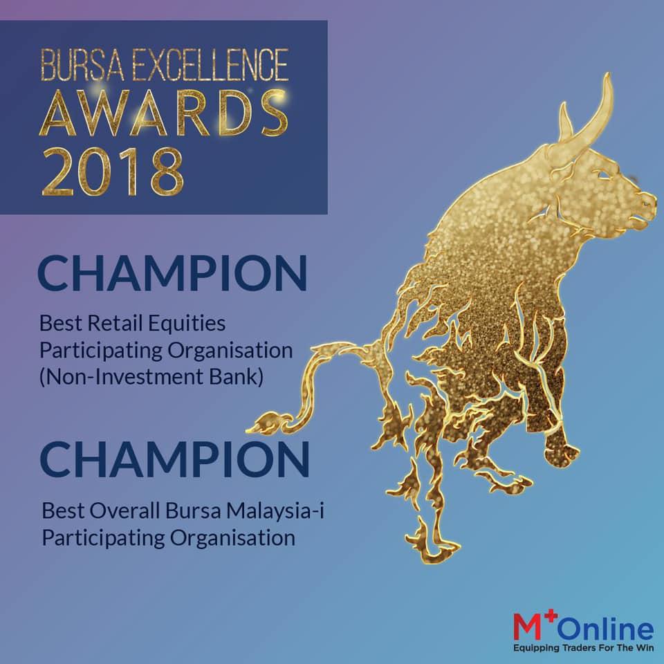 mplus online: Bursa Excellence Awards 2018