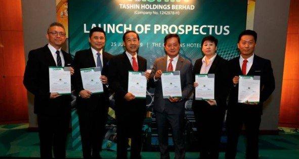 IPO Tashin Holdings Berhad