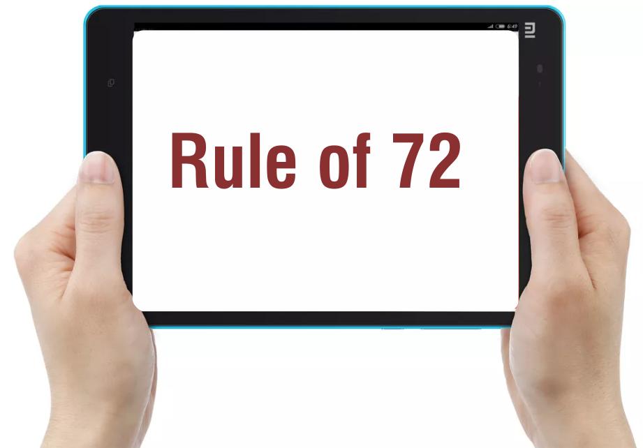 Apa itu 'Rule of 72'