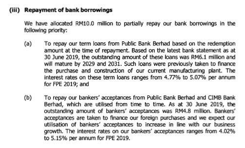 REPAYMENT OF BORROWING RM 10 JUTA SEBANYAK 13.8% mtag group berhad