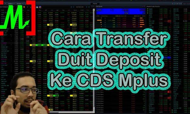 Cara Transfer Duit dalam Akaun CDS