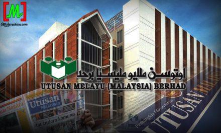 Saham Utusan Melayu bakal dinyah senarai dari Bursa?