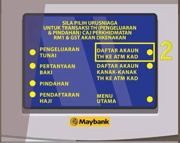 Tabung Haji Online Boleh Transfer Guna Semua Bank Mahersaham