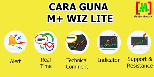 Cara Guna M+ Wiz Lite