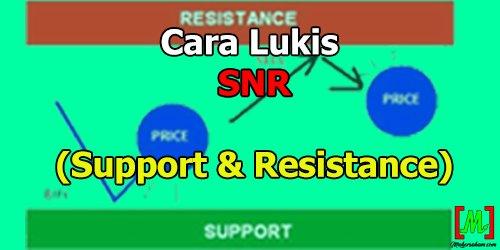 Cara Lukis Dan Tentukan Support Resistance