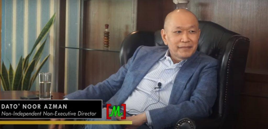 Non-Independent Non-Executive Director di syarikat Lebtech Berhad.