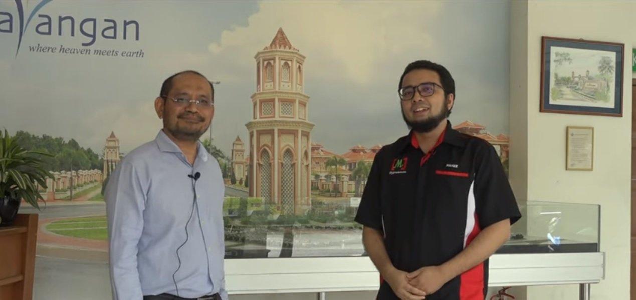 Haji Norazmi dan Encik Maher Alias