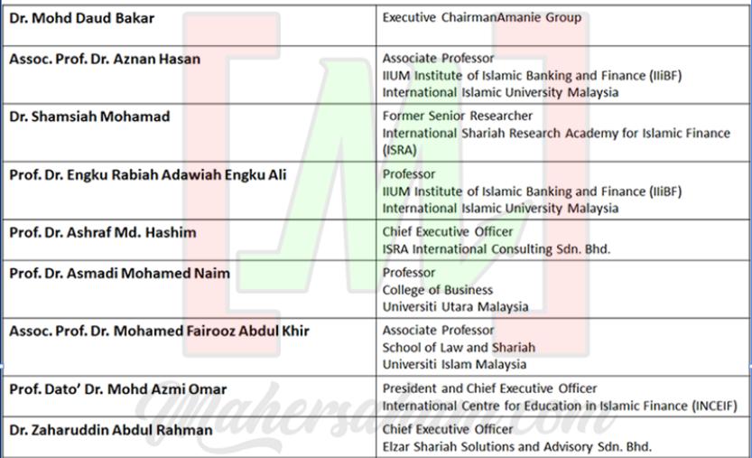 Majlis Penasihat Syariah