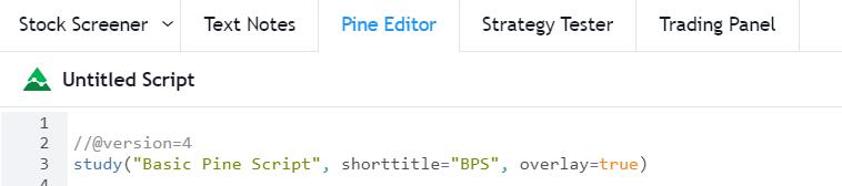 pine script 3