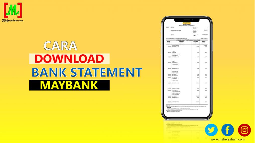 Cara Download Bank Statement