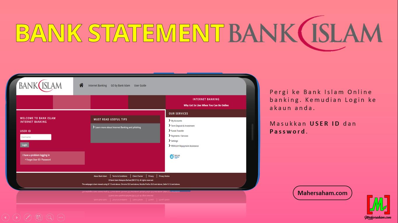bank statement bank islam